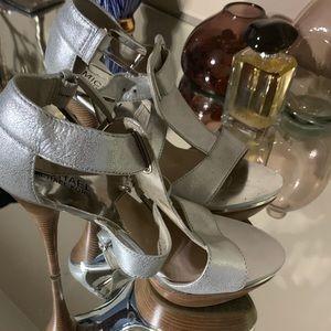 Michael Kors Metallic Heels